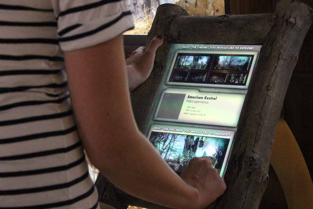 Empey Kiosk Screen