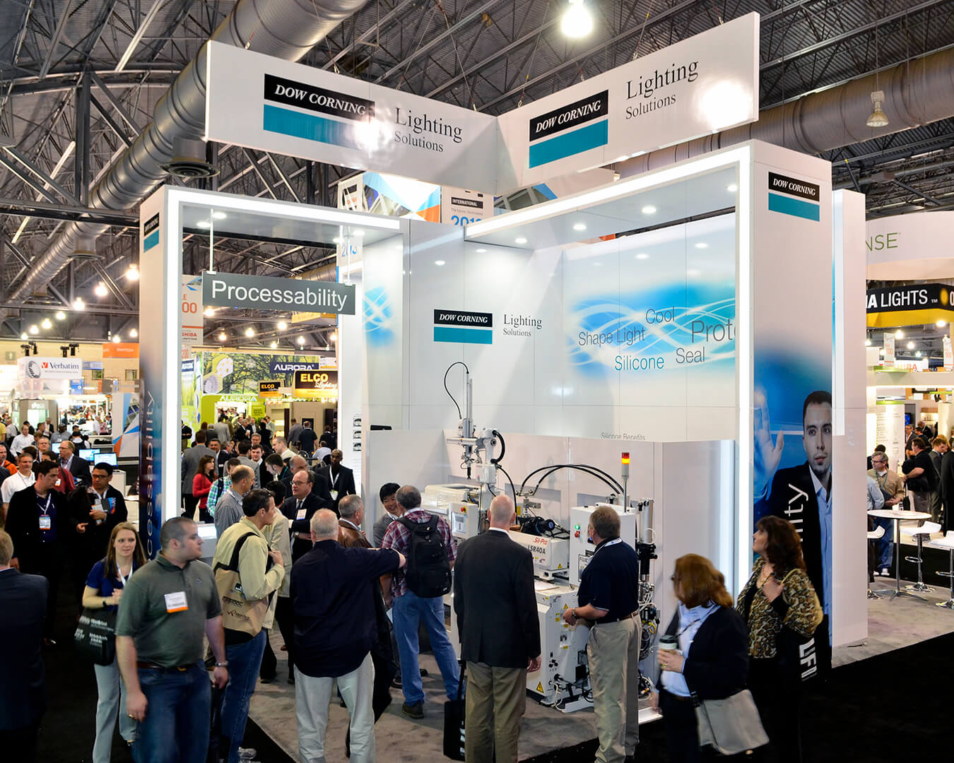 Dow Corning Lighting Booth