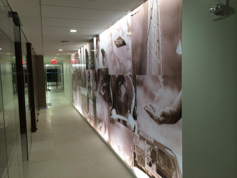 Wall Mural Hallway
