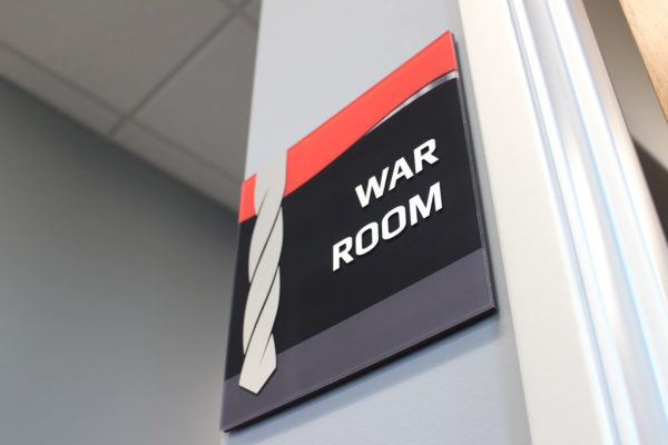 War Room Sign
