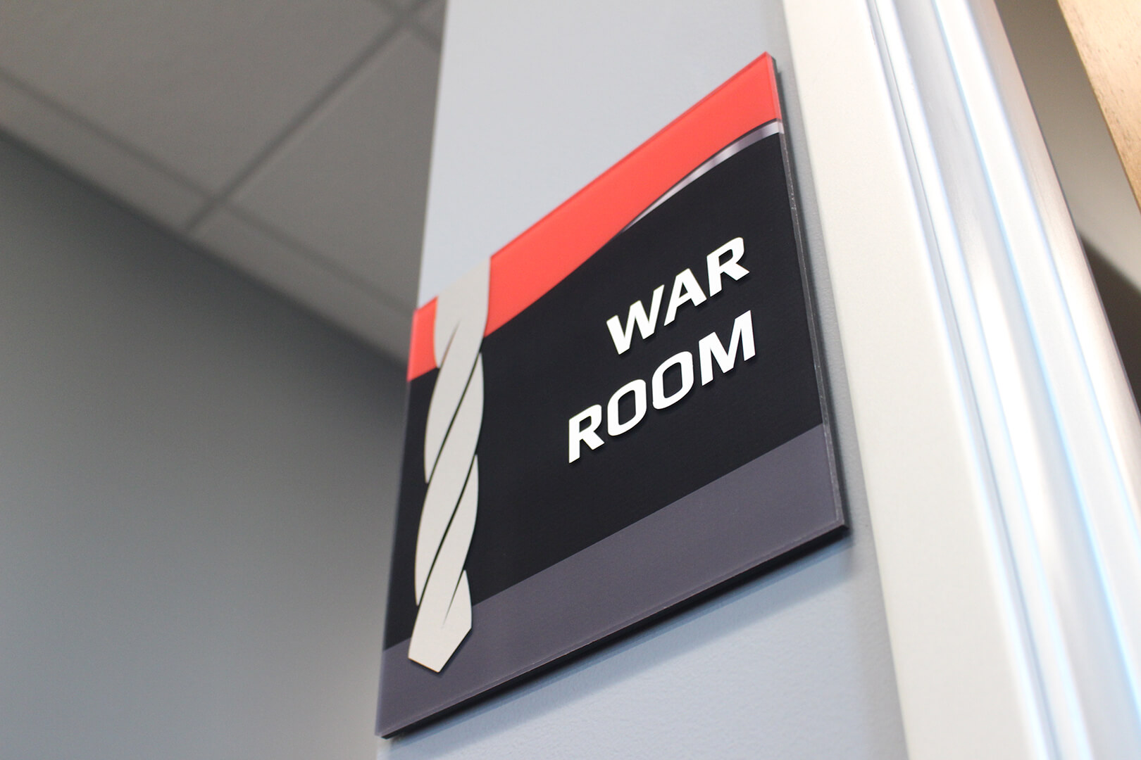 War Room Sign