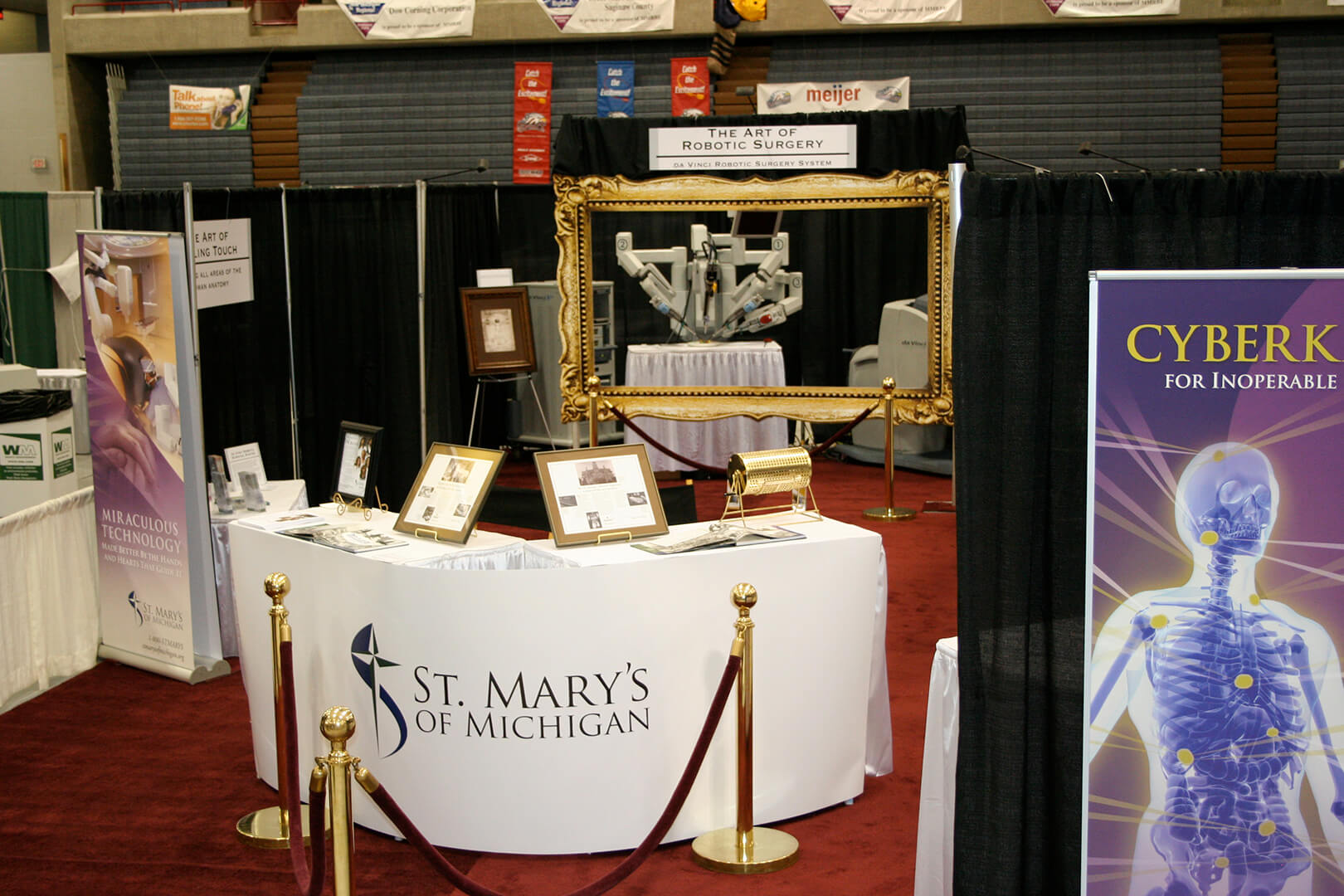 Booth Front Table