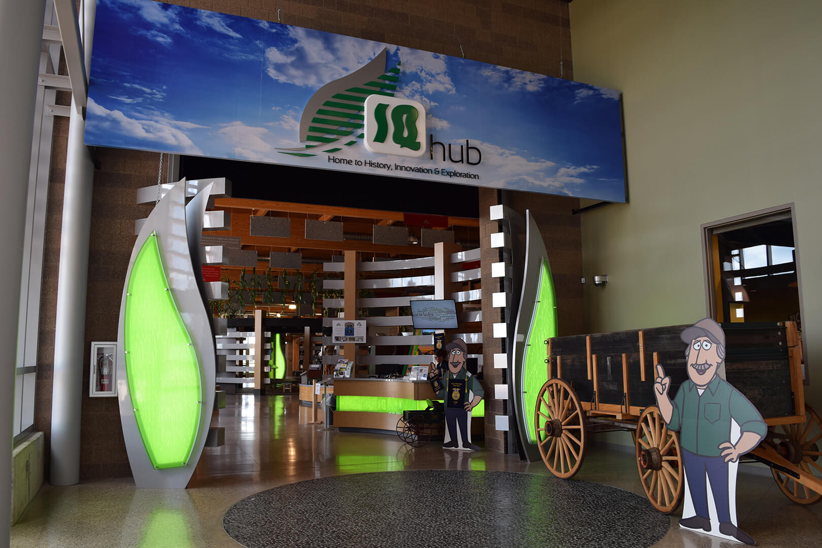 AgroLiquid IQhub Entrance
