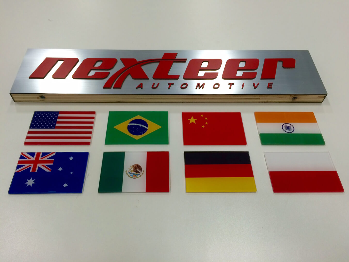 Nexteer Flags