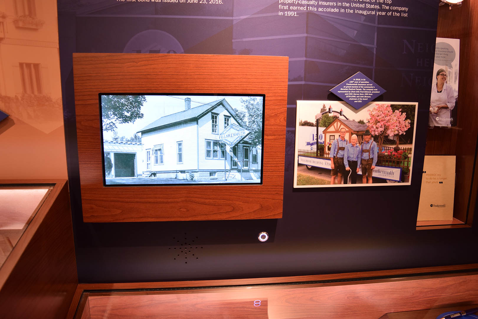 Frankenmuth Artifact Display