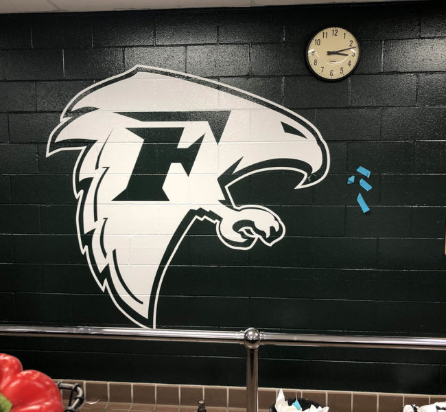 Falcons Wall Vinyl