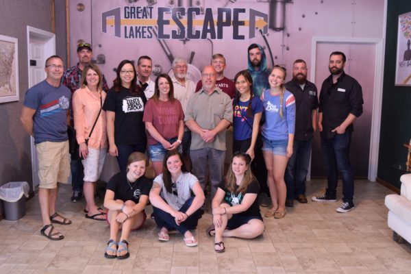 ZENTX Escape Room Outing