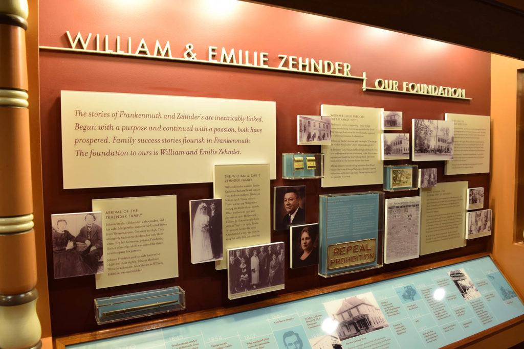 Zehnder's Timeline Wall
