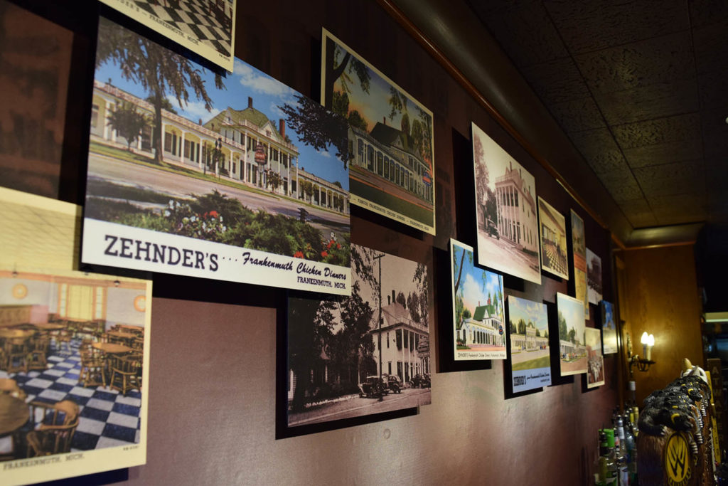 Zehnder's Taproom Wall