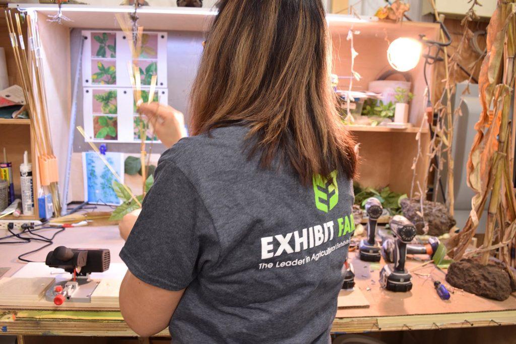 Exhibit Farm Plant Construction