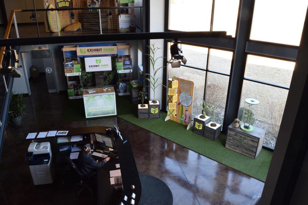 Exhibit Farm Lobby Display
