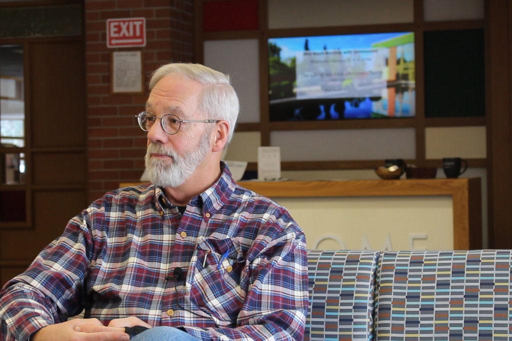 Portrait of Jon Horton, chairman of First UMC's board of trustees