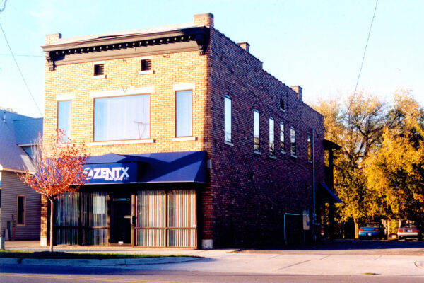 View of ZENTX's old office from the street